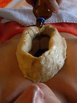 Уро Басті на область грудної клітини в області серця