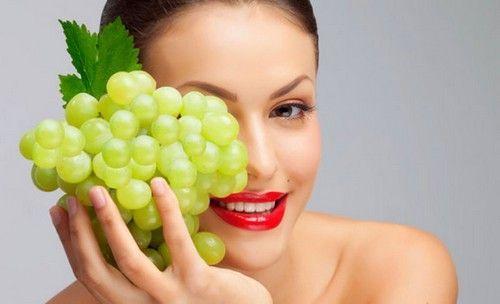 Виноград в косметології