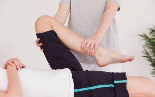 Пасивні вправи для ніг