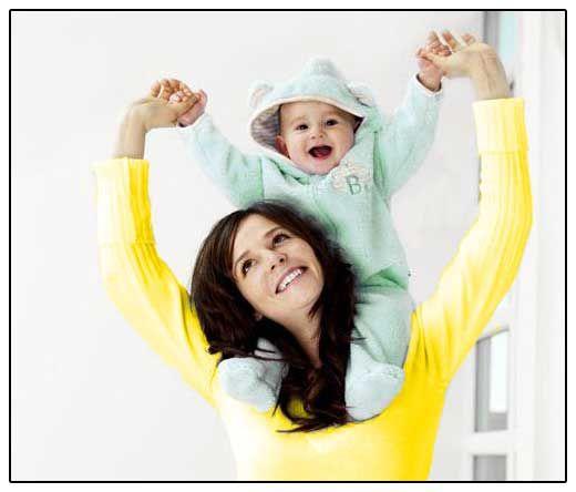 фото - мати з дитиною