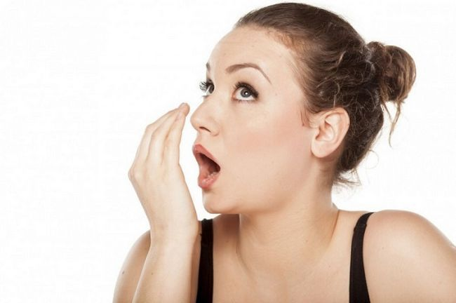 Запах з рота - причина паразити