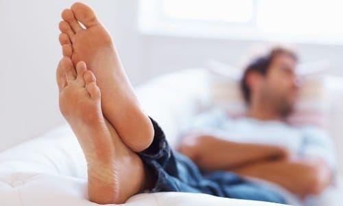 Здорова шкіра ніг
