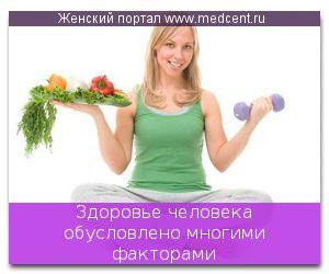 Здоров`я людини обумовлено багатьма факторами